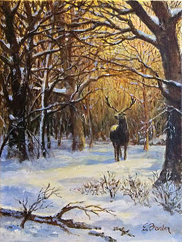 Winter at Lone Elk Park by Edward Farber