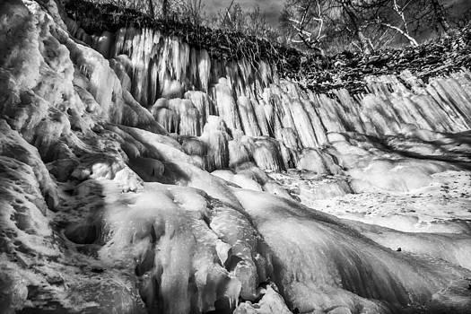 Winter at Minnehaha Falls by Tom Gort