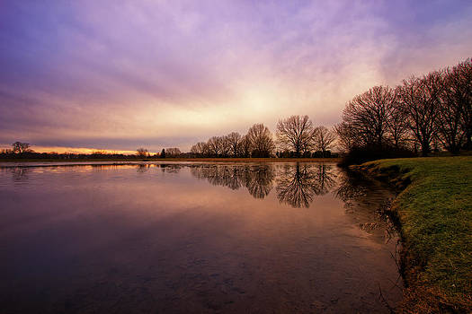 Winter at the Lake by Victoria Winningham