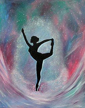 Winter Ballet Dancer by Vicki Kennedy