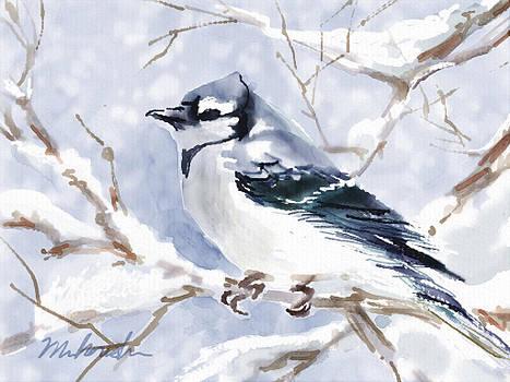 Winter Blue by Linda Minkowski