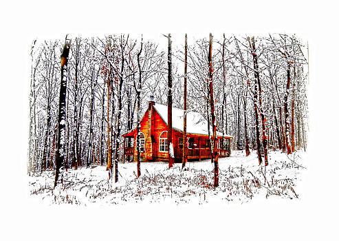 Randall Branham - Winter Cabin in The Woods