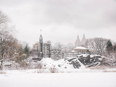 Winter Castle - Central Park - New York City by Vivienne Gucwa