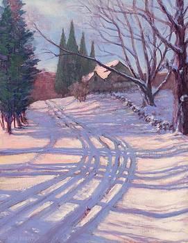 Winter Cathedral by Ken Fiery