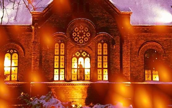 Winter Church  by Dave  Abreu