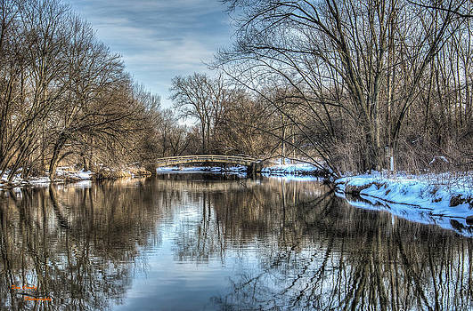 Winter Creek by Dan Crosby