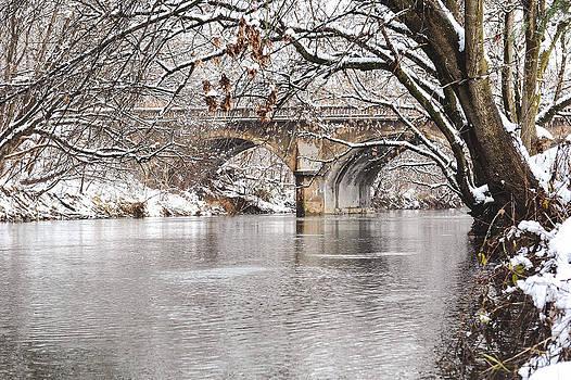 Winter Creek by Kelley Nelson