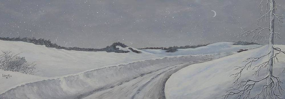 Winter Drive by Linda Koch