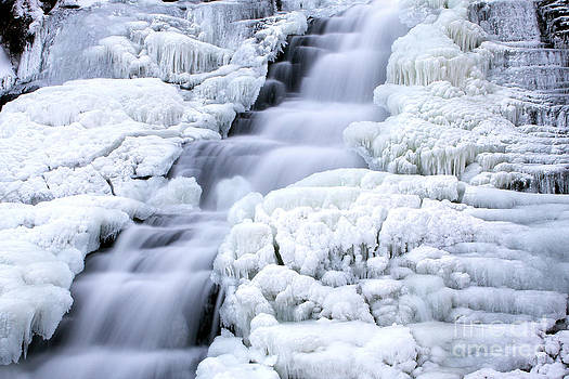 Winter Falls by Guy St-Vincent