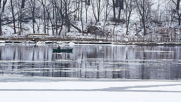 Steven Ralser - winter fishing - wisconsin river