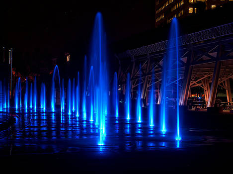 Winter Fountains by Patrick Collins