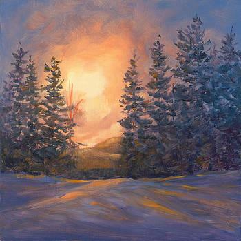 Winter Glow by Elaine Farmer