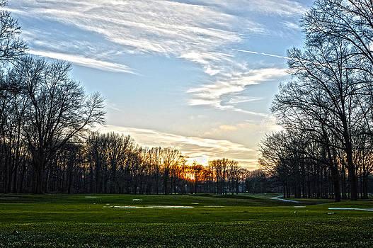 Winter Golf by Jim Wilcox