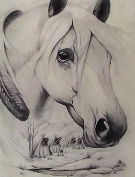 Winter Horse by Karen E Marvel