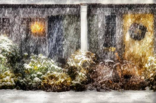 Mike Savad - Winter - House - One Snowy night