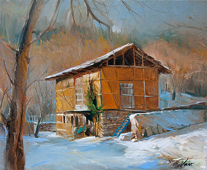 Winter in Delchevo by Vasil Vasilev