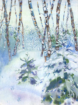 Winter in Estonia by Jelena Sulamanidze