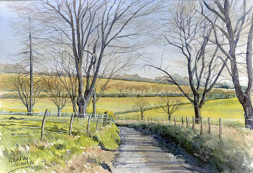 Winter in Kent by Maddy Swan