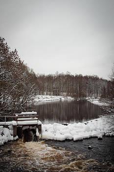 Winter Landscape by Robert Hellstrom