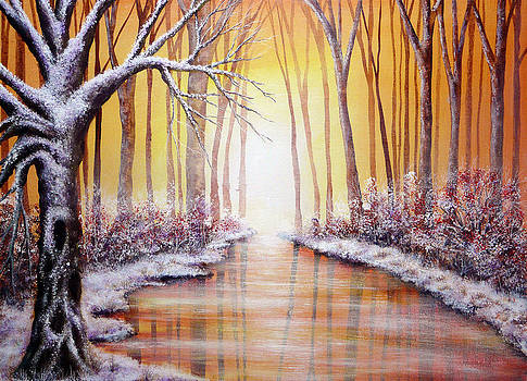 Winter Light by Ann Marie Bone