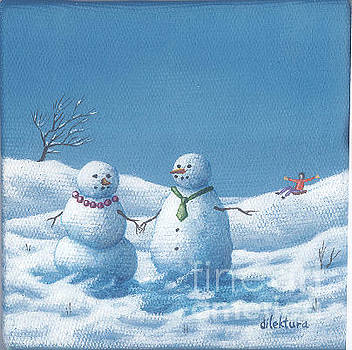 Winter Lovers by Dilek Tura