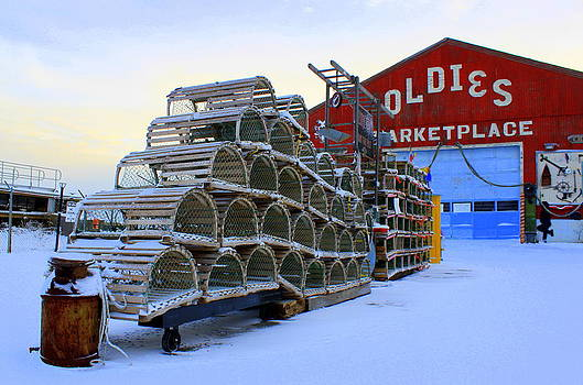 Winter Morning at Oldies by Suzanne DeGeorge