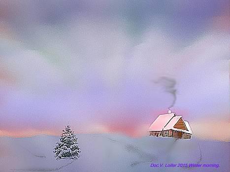 Winter morning by Dr Loifer Vladimir
