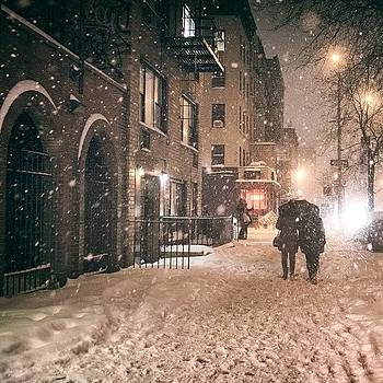 Winter Nights Are The Feeling You Get by Vivienne Gucwa