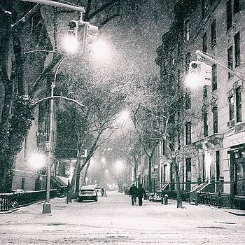 Winter Nights In New York City Wrap by Vivienne Gucwa