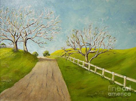 Winter Oaks by Terry Taylor