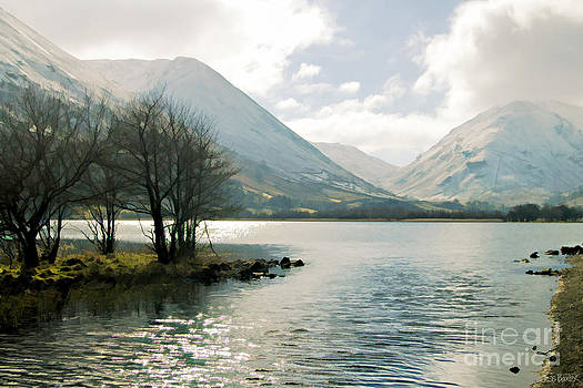 Winter on Brotherswater by Tess Baxter