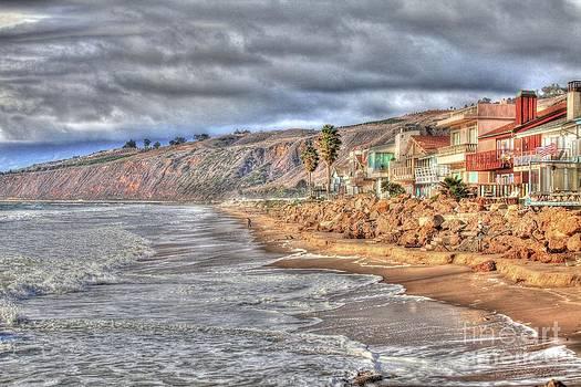Winter on the coast by Jennifer Lawrence