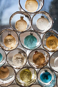 Winter Ornaments of the Past by Dawn Romine