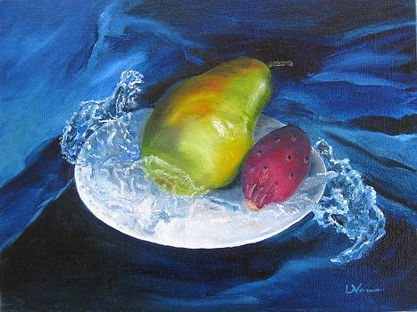 Winter Pears by LaVonne Hand