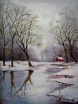 Winter Reflections by Martha Efurd