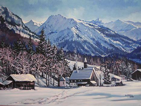 Winter Reverie by Andrei Attila Mezei