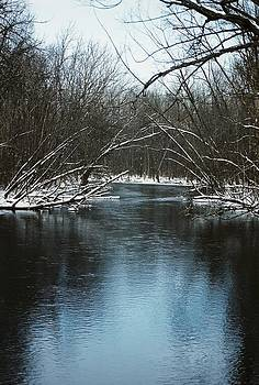 Winter River by Lonnie McGlothen