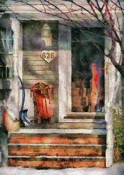 Mike Savad - Winter - Rosebud and Shovel - Painted