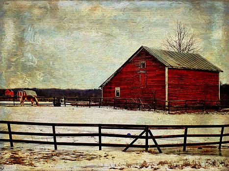 Pamela Phelps - Winter Season Barn