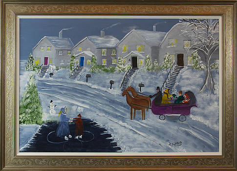 Winter Sleigh Ride by Margaret Pappas