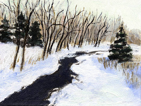 J REIFSNYDER - Winter stream