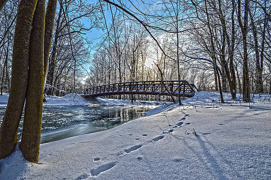 Winter Sunrise by Jim Wilcox