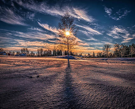 Winter Sunset by IP Maesstro