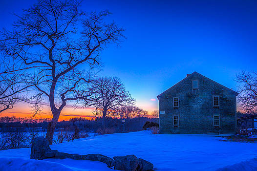 Winter Sunset by Michael Petrizzo
