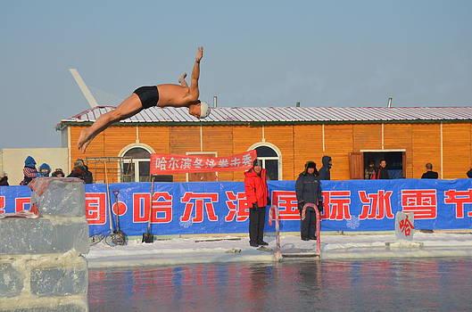 Winter Swimming by Brett Geyer