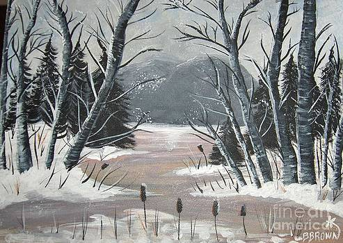 Winter Thaw by Brenda Brown