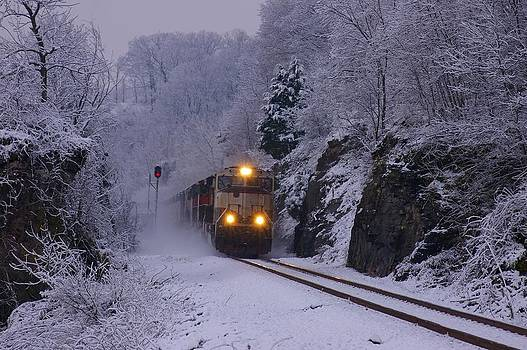 Winter Train by Sean Murray