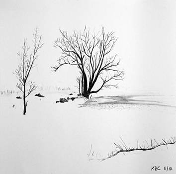 Winter Trees by Kenny Chaffin