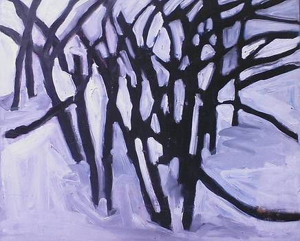 Winter Trees by Kerrie B Wrye