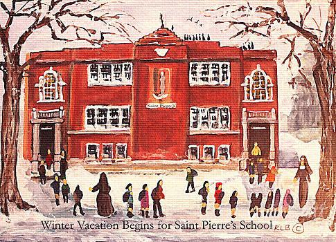 Winter Vacation Begins for Saint Pierre's School by Rita Brown